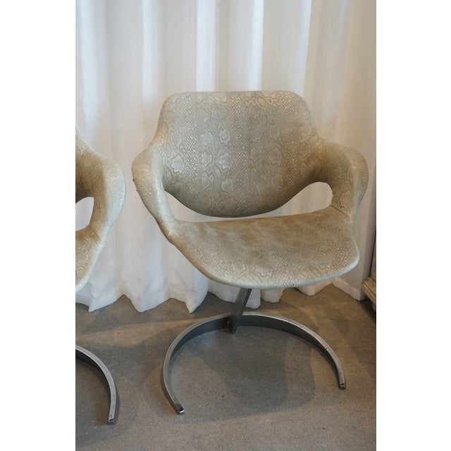 Pair of Vintage Chairs by Boris Tabocoff Chairs For Sale - Image 4 of 12