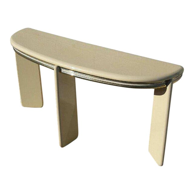 1980's Institute of Design Entry Table Console - Image 1 of 5