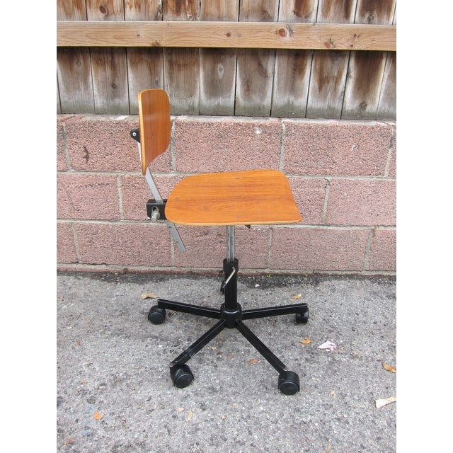 Mid-Century Modern Desk Chair - Image 6 of 8