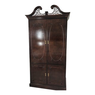 Century Furniture Mahogany Armoire For Sale