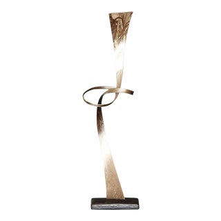 Abstract Steel Sculpture by Joe Sorge For Sale