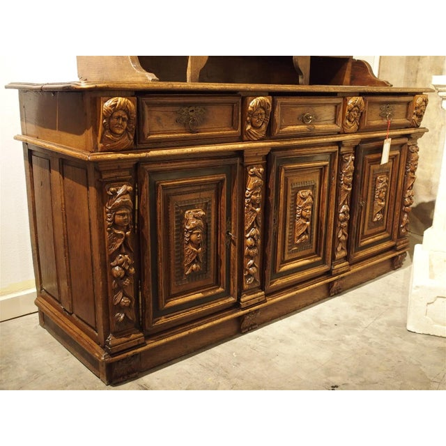 Rare Period Louis XIII Buffet, Circa 1630 For Sale - Image 11 of 11