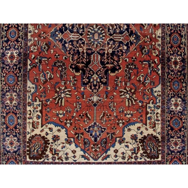 19th Century Fereghan Sarouk Rug For Sale - Image 4 of 10