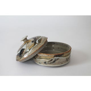 Lidded Studio Art Glaze Pottery Trinket Container Preview