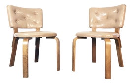 Image of Vinyl Side Chairs