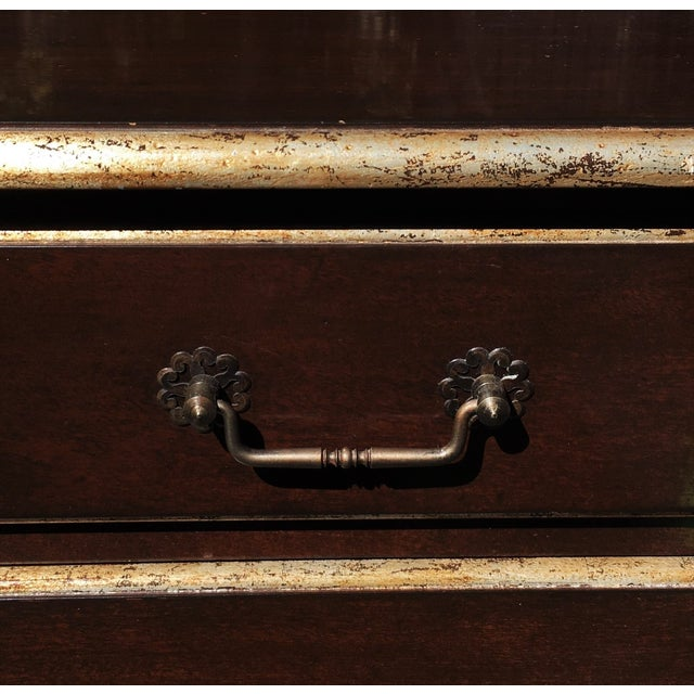 John Hall Walnut Commode Chest of Drawers For Sale - Image 5 of 6