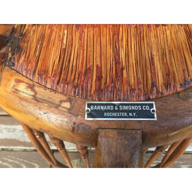 1920s Barnard & Simonds Co. Chairs - Set of 4 For Sale - Image 9 of 11