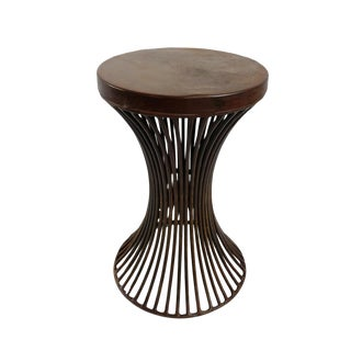 Iron Hourglass Stool For Sale