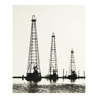 Oil Derricks Photograph For Sale