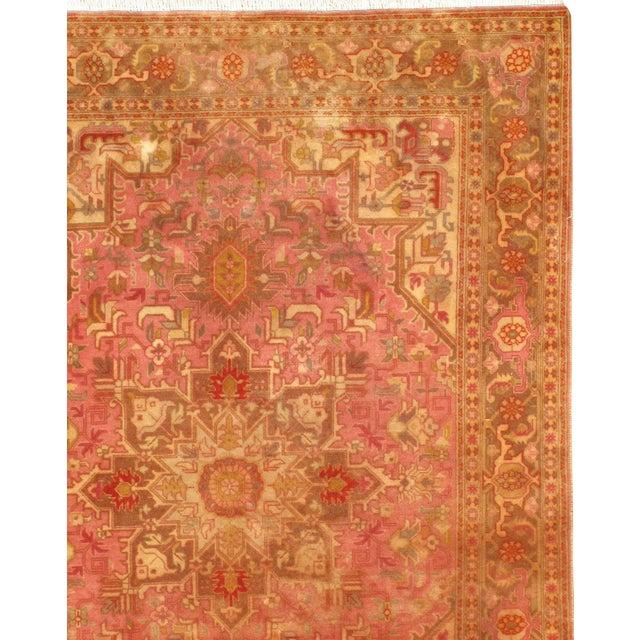 Original Persian Tabriz Handmade and hand-knotted in Tabriz Iran Heriz design Silk & Wool Pile on a Cotton Foundation 60...