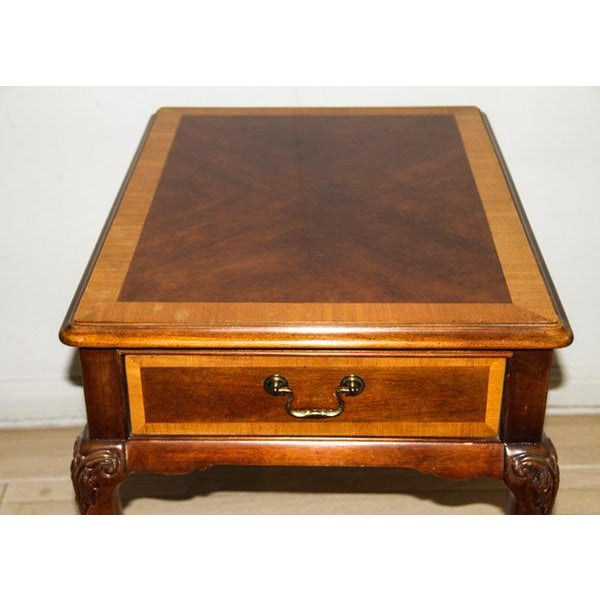 """Vintage Thomasville """"Mahogany Collection"""" End Table - Image 3 of 10"""