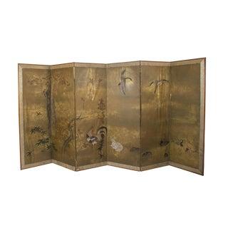 Circa 1830 Japanese Screen