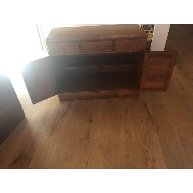 Traditional Vintage Ethan Allen Wooden Dresser For Sale - Image 3 of 6