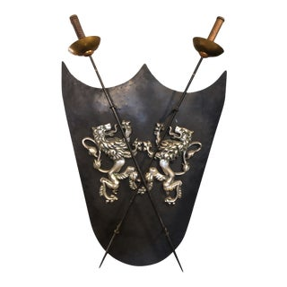 20th Century Armorial Wall Decoration For Sale