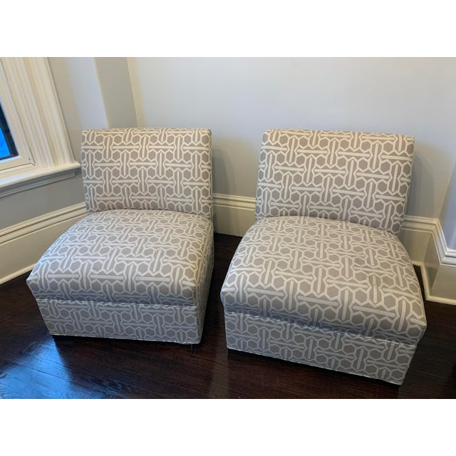 Modern Mitchell Gold Archer Chairs - A Pair For Sale - Image 12 of 12