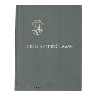 "1914 ""King Albert's Book"" Coffee Table Book For Sale"