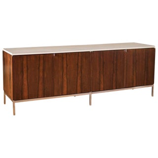 1960s Mid-Century Modern Rosewood Credenza by Florence Knoll For Sale