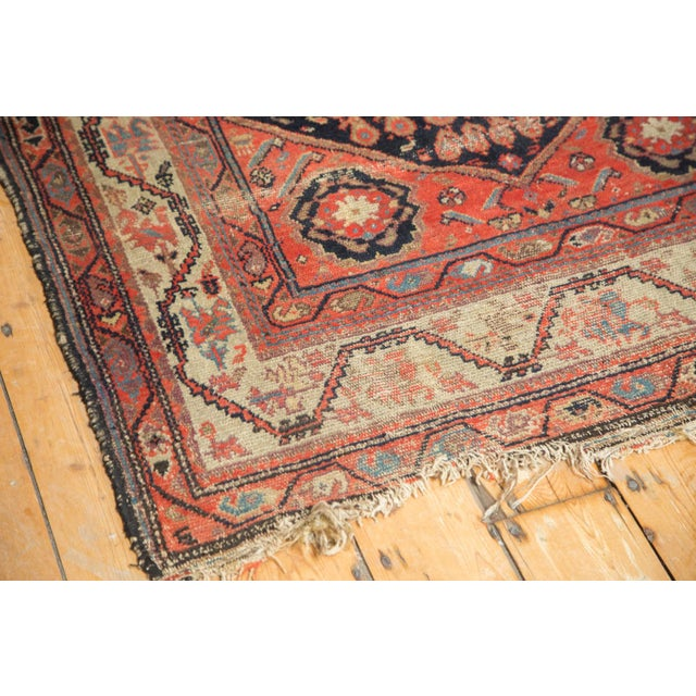 "Antique Hamadan Rug - 4' x 6'3"" For Sale In New York - Image 6 of 11"