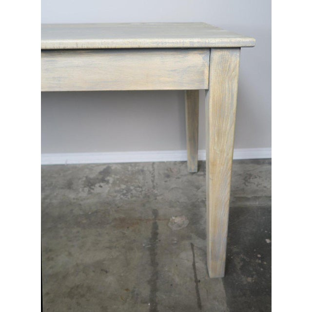 Swedish Painted Farm Table, Circa 1900 For Sale - Image 9 of 11