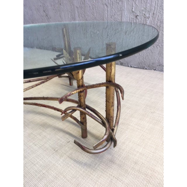 """Lotus"" Coffee Table Attributed to Silas Seandel For Sale In Miami - Image 6 of 8"