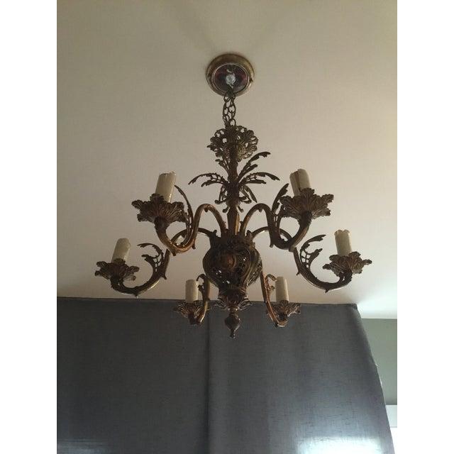 Rococo Revival Chandelier - Image 3 of 6