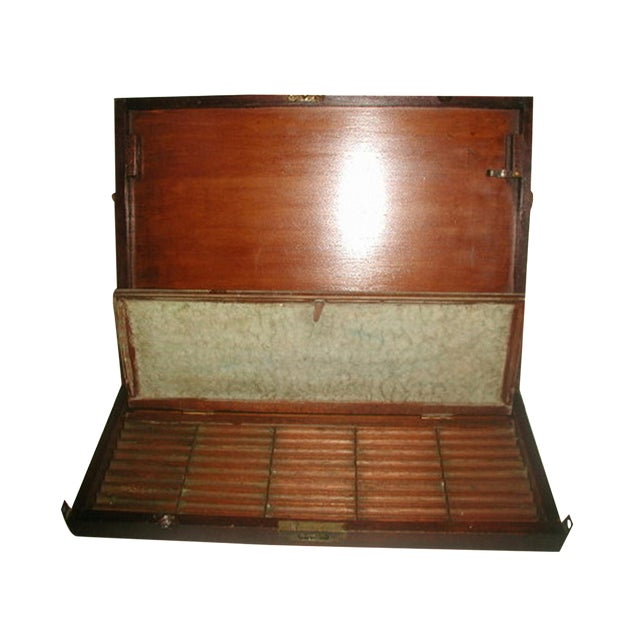 English 19th Century Art Box with Easel - Image 1 of 10