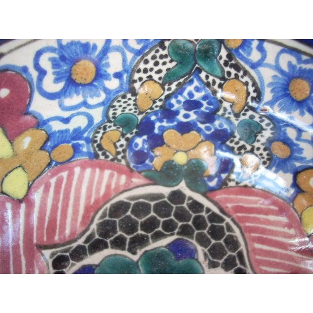 Vintage Mexican Talavera Bowl - Image 3 of 4