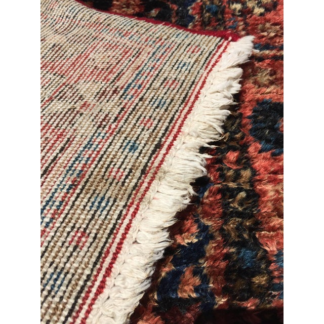 Textile Small Turkish Hand-Knotted Rug For Sale - Image 7 of 8