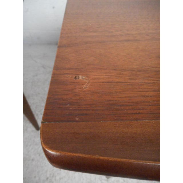 Surfboard Side Tables by Bassett Furniture Co., a Pair For Sale - Image 11 of 13