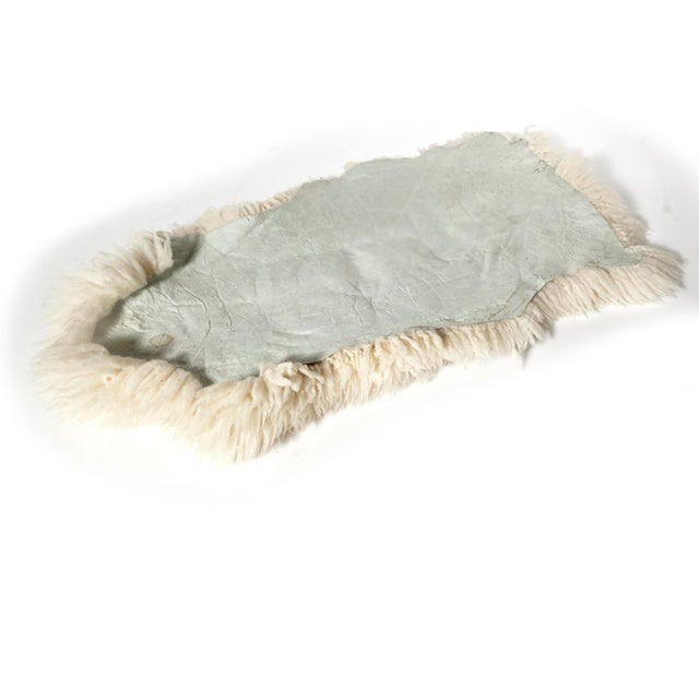 "Sheep Skin Rug - 4'2"" x 2'3"" - Image 5 of 5"