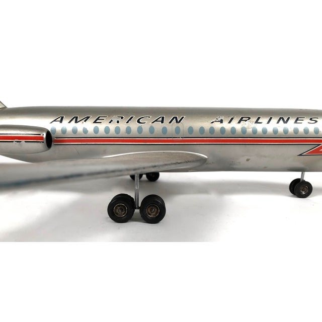 Metal Vintage American Airlines Astrojet Aviation Model For Sale - Image 7 of 10