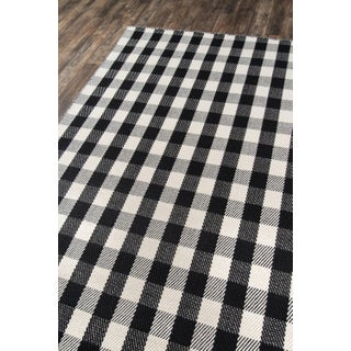 "Madcap Cottage Highland Fling a Scotch Please Black Area Rug 7'9"" X 9'9"" Preview"