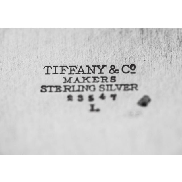1960s Sterling Tiffany Candy Dish For Sale - Image 5 of 6