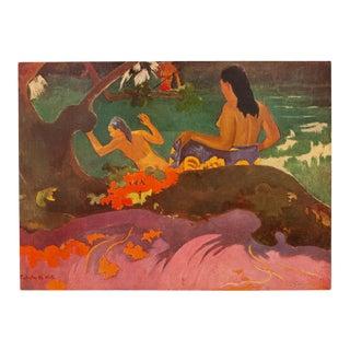 1950s Paul Gauguin Fatata Te Miti, Original Lithograph For Sale