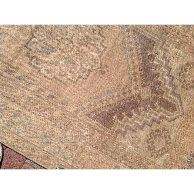 """Vintage Oushak Rug - 3'7"""" x 5'5"""" - Image 5 of 6"""