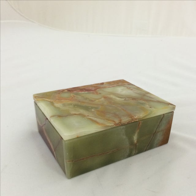 Onyx Box with Fitted Lid - Image 2 of 6
