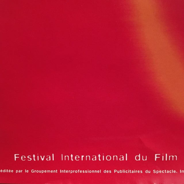Paper 50th Cannes Film Festival Poster For Sale - Image 7 of 7