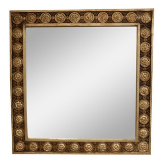 Early 19th Century Italian Gold Leaf Mirror For Sale