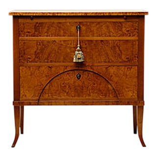 Hemisphere Biedermeier Chest For Sale