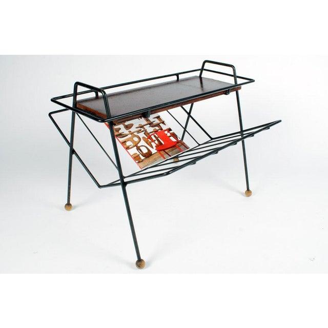 Tony Paul Tony Paul Magazine Rack Tray Table For Sale - Image 4 of 5
