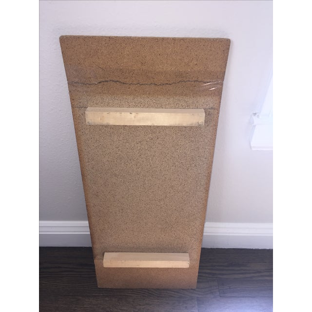 Italian Travertine Marble Console Table - Image 6 of 8