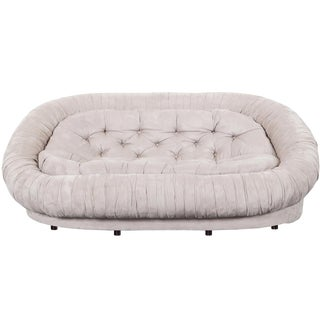"Vintage Italian ""Cloud"" Loveseat For Sale"