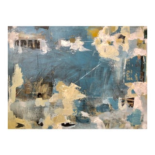 "Contemporary Abstract Painting ""The Cover of Venice"" by Donna Weathers"