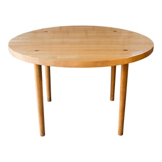 1980s Mid Century Ben Thompson for Design Research Butcher Block Dining Table For Sale