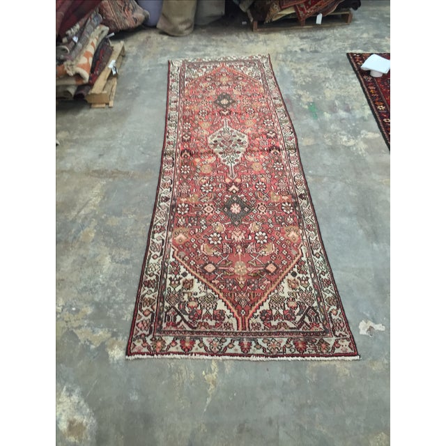 Hamadan Persian Rug - 2′11″ × 9′5″ - Image 4 of 8