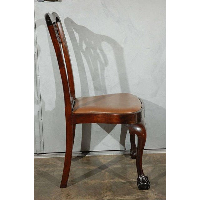 Chippendale Style Side Chairs - Set of 6 - Image 7 of 8