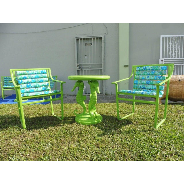 60's Vintage Samsonite Wrought Iron Patio Set For Sale - Image 12 of 12