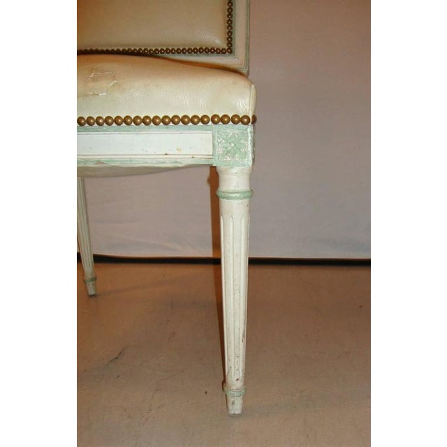 Maison Jansen Paint Decorated Side Chair For Sale In New York - Image 6 of 7