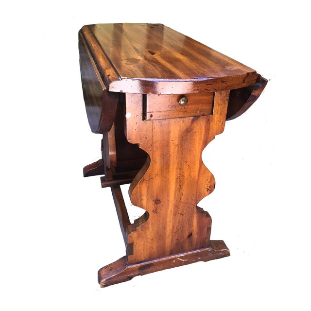 Americana American of Martinsville Pine Butterfly Drop Leaf Table For Sale - Image 3 of 6