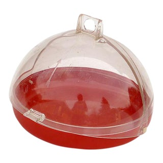 Modernist German Cheese Dish in Red